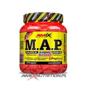 M.A.P. Muscle amino power amix 357 tabs