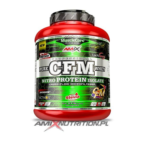 Pure CFm Whey isolate amix musclecore 1000g