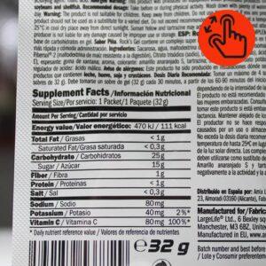 amix-rock-gel-supplement-facts