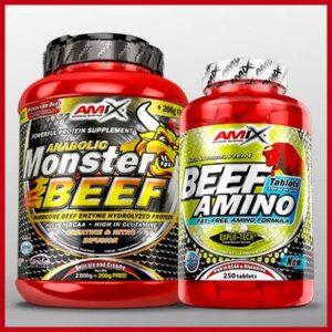 białko wołowe BEEF amix