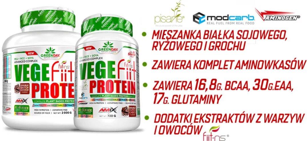 białko wege amix właściwości