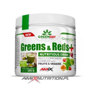 greens reds + amix greenday