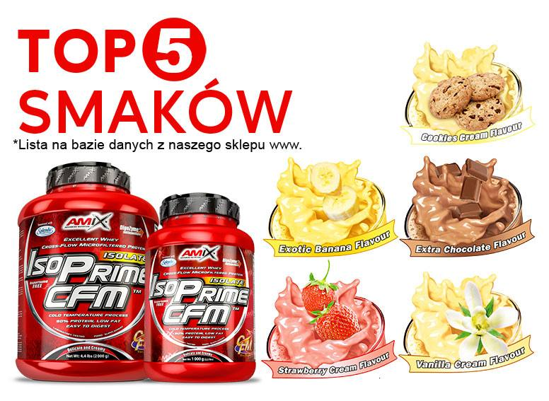 najlepsze smaki białka
