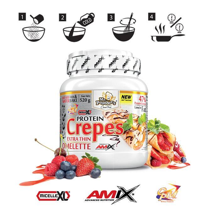 jak dawkować protein crepes