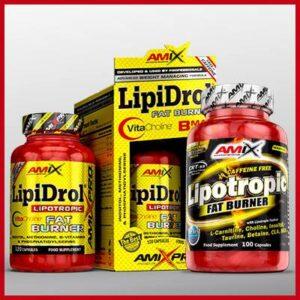 spalacze tłuszcze bez kofeiny amix lipotropowe