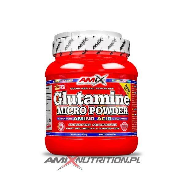 Glutamine micro powder Amix 500g