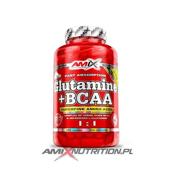 BCAA Glutamine Amix caps