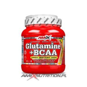 Glutamina + BCAA 500g Amix