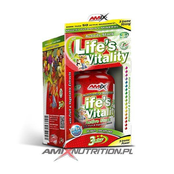 Life's Vitality Active Stack Amix Nutrition
