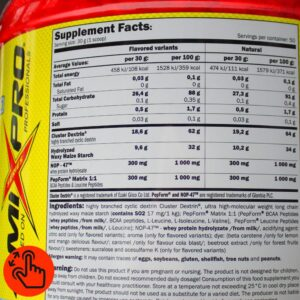 amix-glycodes-supplement-facts