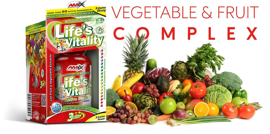 amix lifes vitality wyciąg z owoców i warzyw