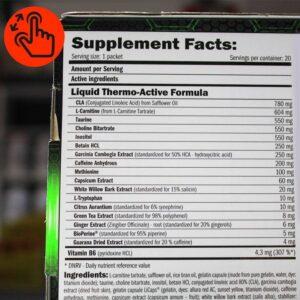 amix-lipo-lean-man-cut-supplement-facts