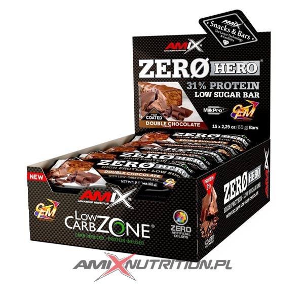amix zero hero protein bar