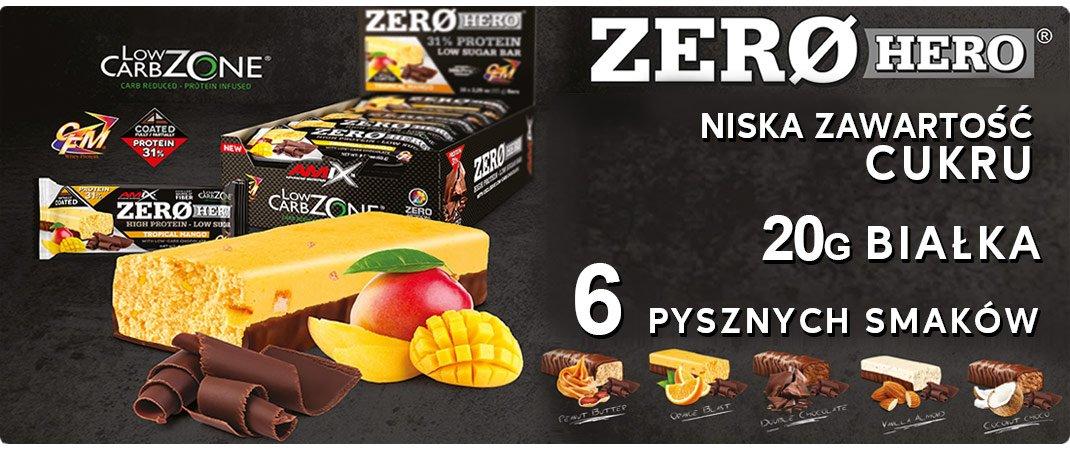 amix zero hero baton białkowy