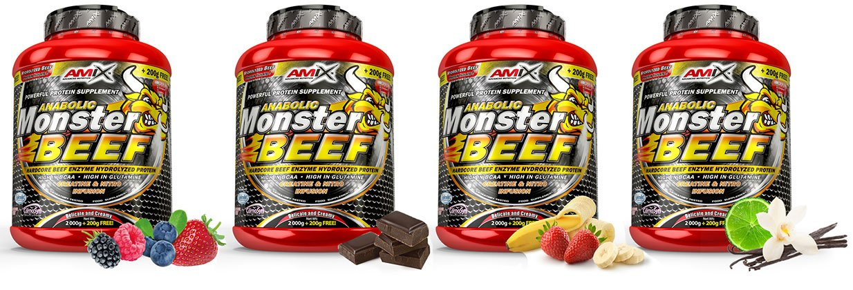 amix białko wołowe smaki