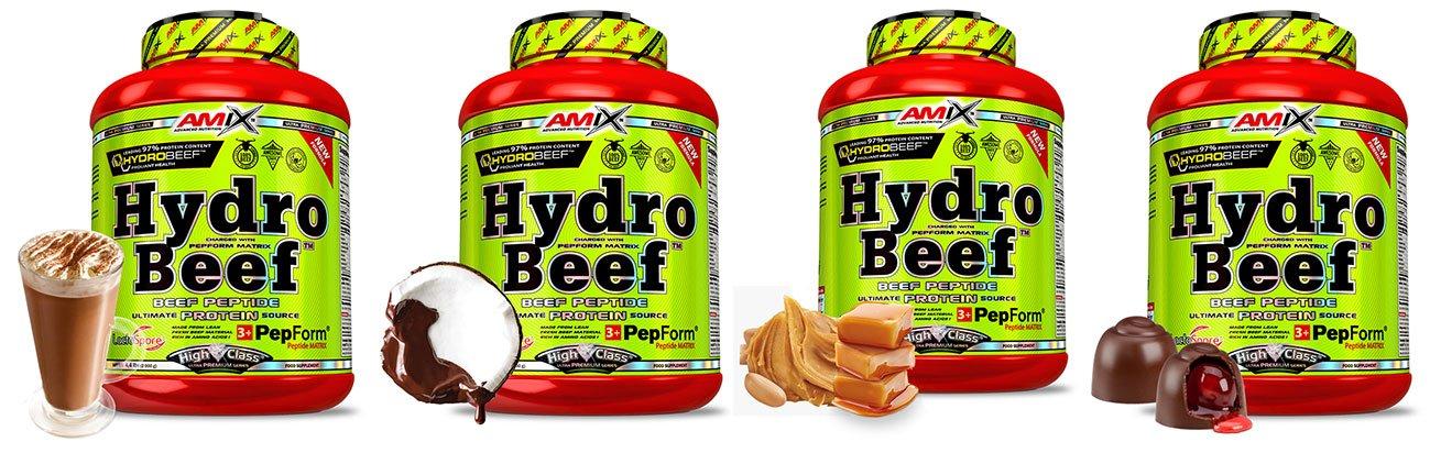 amix hydro beef 2 kg smaki