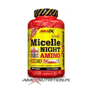 micelle night amino 250 tabs