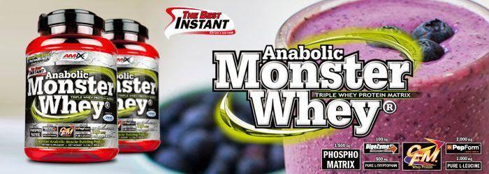 monster whey amix banner