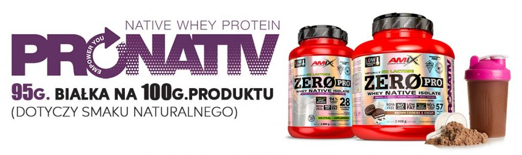 pronative whey amix zero pro