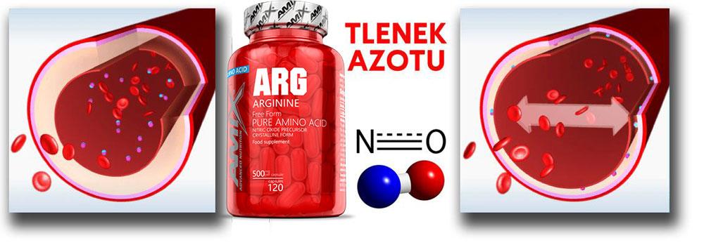 tlenek azotu arginina amix