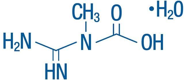 kreaty monohydrat wzór chemiczny