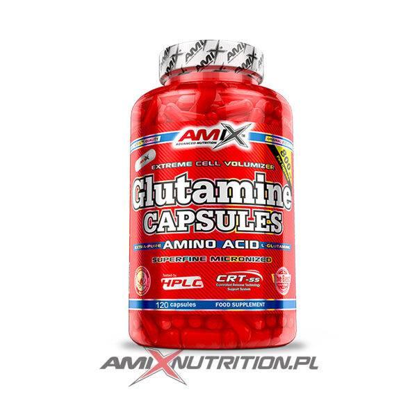 amix glutamina 120 kapsułek
