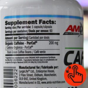 caffeine-natural-amix-supplement-facts