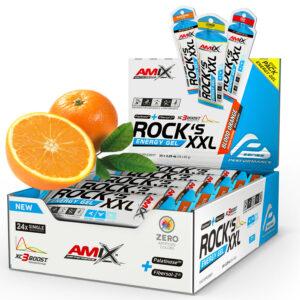żele energetyczne o smaku pomarańczowym
